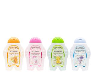 KIDS shower soap set 4x 300 ml