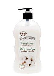 Liquid soap with cotton oil 650 ml
