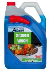 Summer windshield washer fluid with a funnel -6 ℃, canister 5L