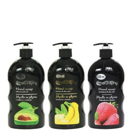 A set of liquid soaps 3x 650 ml