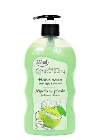Apple liquid soap with aloe 650 ml