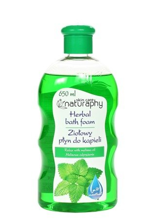 Herbal bath foam with lemon balm oil 650 ml