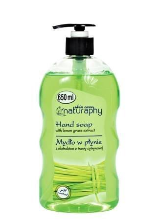 Liquid soap with lemongrass extract 650 ml