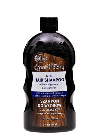 Men's hair shampoo with eucalyptus oil 650 ml