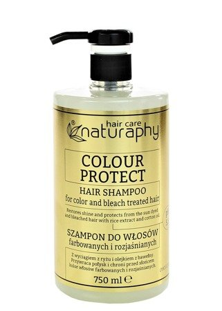 Shampoo for colored and bleached hair 750 ml