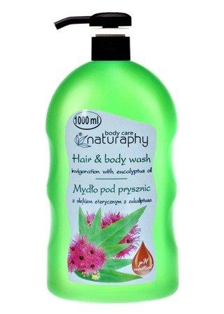 Shower soap with eucalyptus essential oil 1L