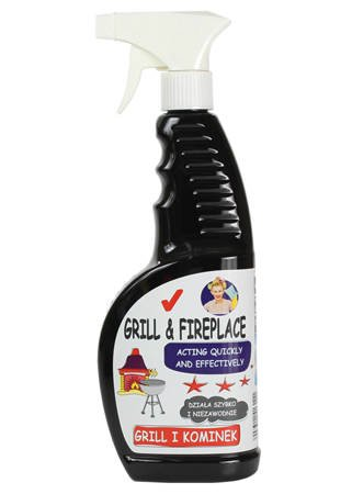 Specialist cleaning agent for grills, fireplaces and ovens 650 ml