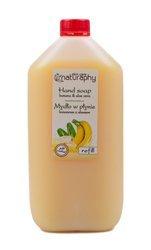 Mydło do rąk w płynie bananowe z aloesem Naturaphy 5L