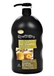 Rewitalizujący i nadający połysk szampon do włosów suchych i normalnych z wyciągiem z oliwek 1L