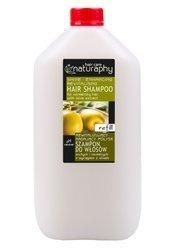 Rewitalizujący i nadający połysk szampon do włosów suchych i normalnych z wyciągiem z oliwek 5L kanister