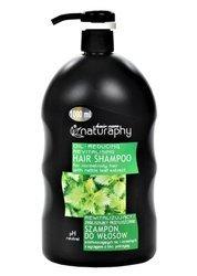 Rewitalizujący i zmniejszający przetłuszczanie szampon do włosów przetłuszczających się i normalnych z wyciągiem z liści pokrzywy 1L
