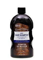 Szampon do włosów dla mężczyzn z olejkiem eukaliptusa 650 ml