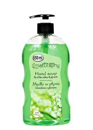 Mydło do rąk do rąk w płynie konwaliowe z gliceryną 650 ml