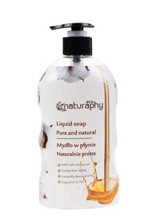 Mydło do rąk w płynie naturalne ECO z olejkiem nasion bawełny 650 ml