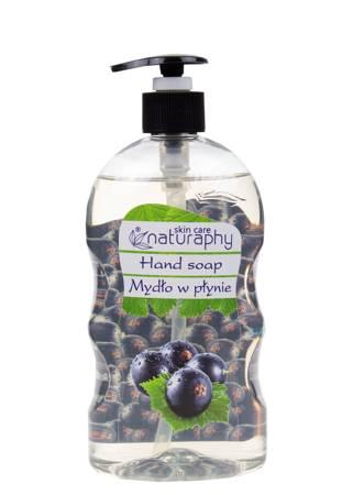 Mydło do rąk w płynie o zapachu czarnej porzeczki 650 ml