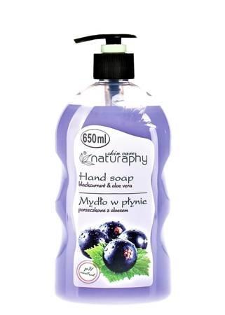 Mydło do rąk w płynie porzeczkowe z aloesem 650 ml