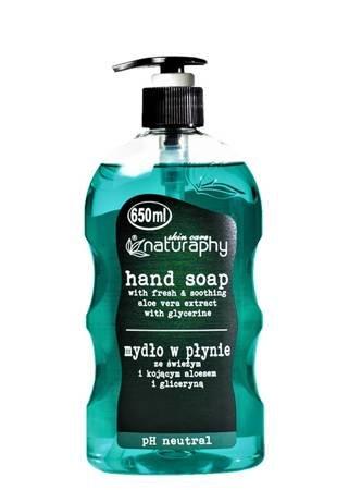 Mydło do rąk w płynie ze świeżym aloesem i gliceryną 650 ml