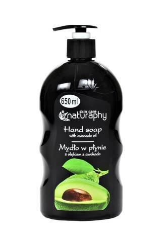 Mydło w płynie z olejkiem z awokado 650 ml