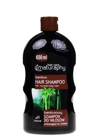 Szampon bambusowy do włosów przetłuszczających się i normalnych 650 ml