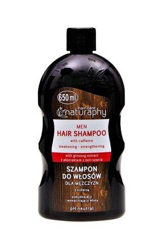 Szampon do włosów dla mężczyzn z kofeiną 650 ml