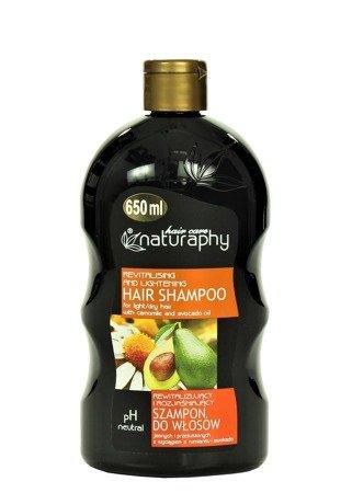 Szampon do włosów jasnych i przesuszonych z wyciągiem z rumianku i awokado 650 ml
