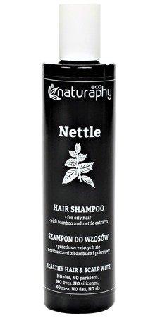 Szampon do włosów przetłuszczających się z ekstraktami z bambusa i pokrzywy 250 ml