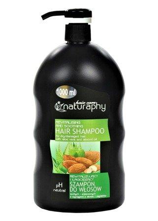 Szampon do włosów suchych i zniszczonych z wyciągiem z aloesu i migdałów 1L