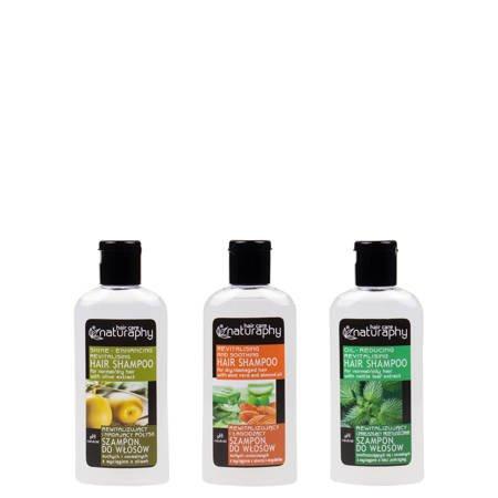 Zestaw szamponów rewitalizujących Naturaphy 3x 100ml